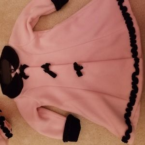 FINAL PRICE! Adorable coat and hat set for girl!